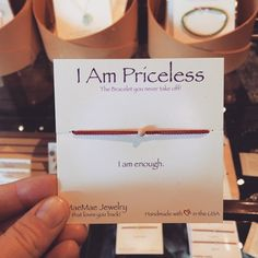 You are enough, that is all.  #iampriceless #iamenough #mindfulnest #burbank #magnoliaparkburbank
