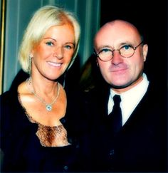 Anni-Frid Lyngstad Abba and Phil Collins
