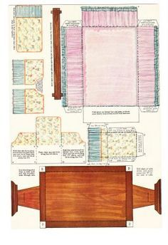 The Paper Collector: Armstrong Quaker Girl Paper Doll Rooms, Paper  Dollshouse, Funky Paperdolls