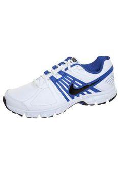 Tênis Nike Downshifter 5 LEA Branco/Azul – Nike - http://batecabeca.com.br/tenis-nike-downshifter-5-lea-brancoazul-nike.html