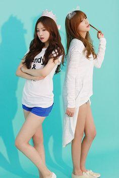 Naeun and Hayoung