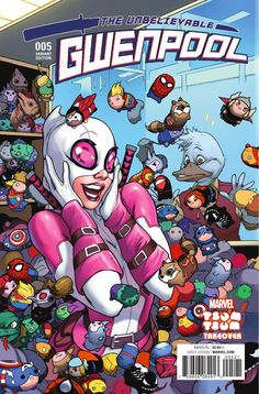 Preview: Gwenpool #5, Story: Christopher Hastings Art: Irene Strychalski Cover: Stacey Lee Publisher: Marvel Publication Date: August 17th, 2016 Price: $3.99 ..., #All-Comic #All-ComicPreviews #ChristopherHastings #Comics #Gwenpool #IreneStrychalski #M