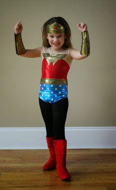 Kadiddlehopper: Jalie 2792 becomes Wonder Woman!