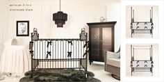 parisian distressed black: spectacular gorgeous looks for baby nursery. Baby Room Closet, Baby Bedroom, Baby Boy Nurseries, Baby Cribs, Best Changing Table, Yellow Bedding, Baby Boy Photos, Baby Bassinet, Nursery Design