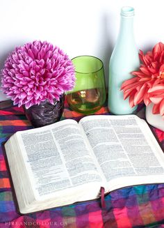 "Bible Study - ""The grass withers and the flowers fade, but the word of our God stands forever."" Isaiah 40:8"