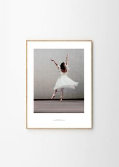 Essence of ballet 03 by Paper Collective | Poster from theposterclub.com