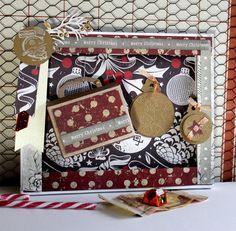 """Wohndekoration - Geldgeschenk """"Weihnachten"""" mit Koffer""""Nostalgie"""" - ein Designerstück von FrlBetty bei DaWanda"""