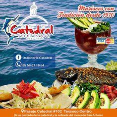 ¡No te quedes con el antojo! Disfruta de un ambiente agradable y prueba los exquisitos pescados y mariscos que Ostionería Catedral tiene para ti. https://www.facebook.com/ostioneriacatedral/?fref=ts http://negocilibre.com/directorio/ostioneria-catedral/