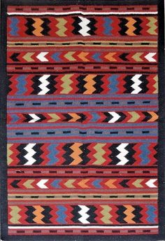 Handwoven 5x8 Handmade Flatweave Blue Red Reversible Dhurrie Area Rugs Kilim #Handmade #TraditionalPersianOriental