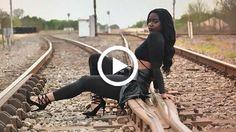 woman hit train tracks
