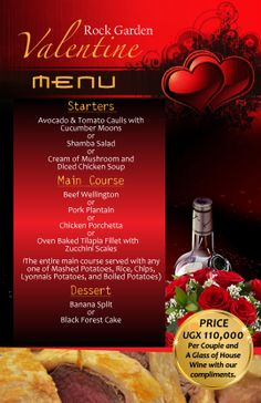 valentine day restaurant specials cleveland