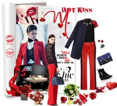 """""""hot kiss"""" by aaliyah on Polyvore"""