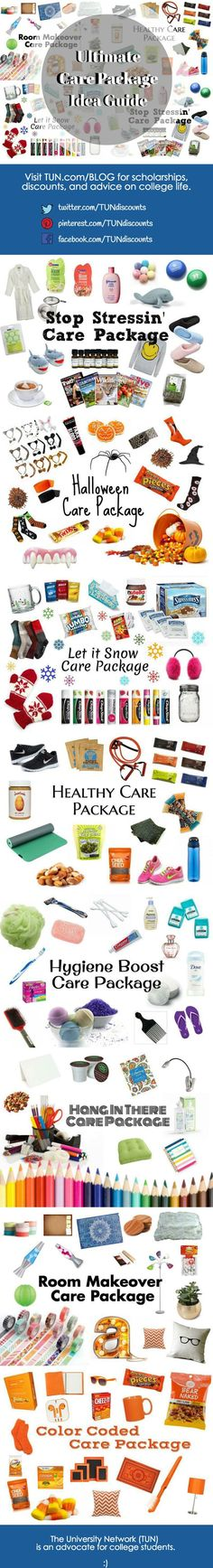 Whether youre giving a care package or receiving one, these simple boxes are a wonderful surprise for any college student. Show someone how much they mean to you with these 8 great care package ideas!