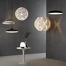 Buy Philips Hue Smart Vol Ring Ceiling Pendant Light, White Online at johnlewis.com