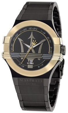 Buy Maserati R8853108004 Potenza Mens Watch from uhrcenter Watch Shop. ✓Official Maserati Stockist! Watches For Men Unique, Modern Watches, Stylish Watches, Luxury Watches, Cool Watches, Aftershave, Daniel Wellington, Bracelet Cuir, Sport Watches