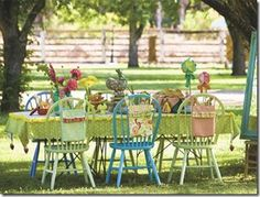 What funfor a little girl's garden party. (0r a big girl's tea party?)