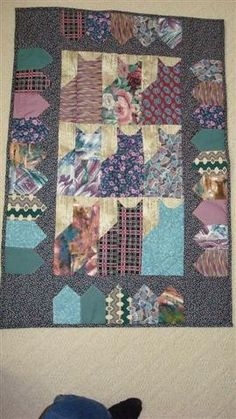 Cats Mini Quilt by OkanaganCrafts on Etsy, $40.00