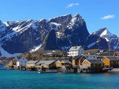 Lofoten Sakrisøy - Norway