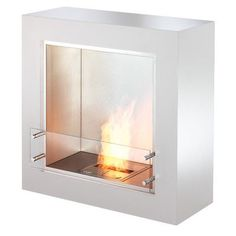 Cube Designer: Paul Cohen The ideal choice for a portable fireplace solution The EcoSmart Cube fireplace is a cleverly designed, square-shaped fireplace that will complement a variety of interiors, including . Paul Cohen, Portable Fireplace, Bioethanol Fireplace, All Modern, Home Accessories, Cube, Home Improvement, Flooring, Contemporary