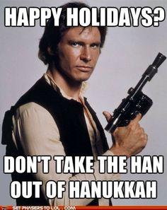 For Elena - Keep the Han in Hannukah