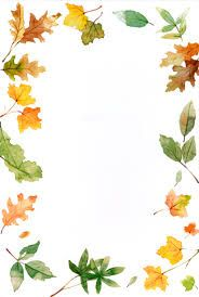 Image result for autumn borders