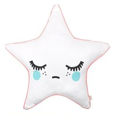 Rose in April Sleepy Doll Star Cushion - Pink
