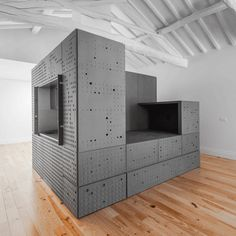 Could Be Great Concept, One Room With Each Of The Sides Of This Object  Representing