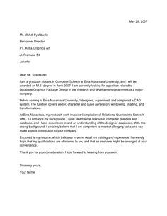 cover letter for jobs google search - Cover Letter For Government Job