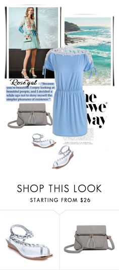 """""""Rosegal"""" by fashion-all-around ❤ liked on Polyvore featuring Elie Saab and Loewe"""