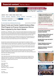 #DavidCrantz #Phoenix #CantorFundingInc #Landmarc #Arizona