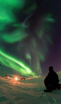 Northern Lights - Tuktoyaktuk, Northwest Territories Canada