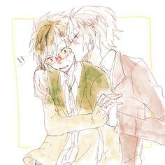 """狐火@しんどい su Twitter: """"軽率に抱き寄せてキスとかしてきそうなガクヤオトメ【楽ヤマ】… """""""