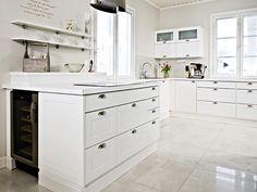 Rauhala - valkoinen 2. Decor, Kitchen Interior, Kitchen Inspirations, House, Interior, Home, Kitchen Cabinets, New Homes, Kitchen Dining