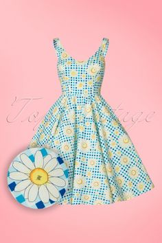 Bunny Sunshine 50s Floral Dress 102 39 21063 3