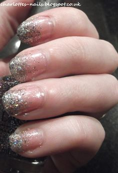 April Showers Bring May Flowers Challenge - Glitter Tips.