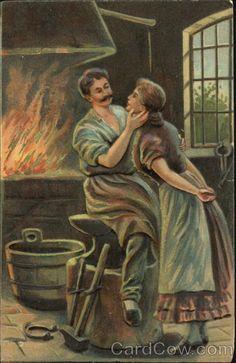 Blacksmith and a woman Romance & Love