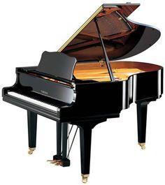 black grand piano - Google Search