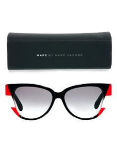 Image 2 ofMarc By Marc Jacobs Colour Block Cateye Sunglasses £62 asos free delivery