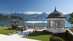 Park Hotel Vitznau, İsviçre lüks ve ısmarlama zenginliğe bir anıt