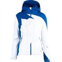 Spyder Breaker Jacket - Women's (2012-13) - White / Blue My Mind