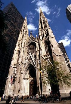 St. Patrick's Cathedral (Manhattan) - Wikipedia, the free encyclopedia