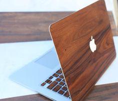wooden macbook covers