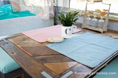 Becca's Pop Up Camper Makeover - The Pop Up Princess