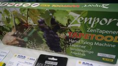 Tie plants with the squeeze of your hand. Only one squeeze of the handle stretches the tape between the jaws read . Horticulture, Zen, Vegetable Gardening, Square Foot Gardening
