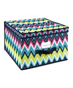 Take a look at this Margarita Jumbo Storage Box by The MacBeth Collection on #zulily today!