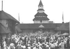 Український павільйон на Всесвітній виставці в Чікаго (США) червень 1933 р.