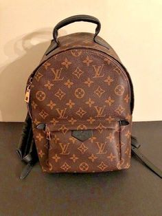LOUIS VUITTON Monogram Palm Springs Backpack PM Bag Mint Cond!  fashion   clothing  shoes  accessories  womensbagshandbags (ebay link) d014ea0a3f0
