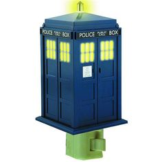 Not that I want The Doctor to run away with my baby, but it never hurts to have him on call to ward off scary night time visitors