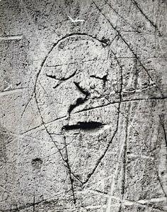 Brassaï, Graffiti de la Série IV, Masques et Visages