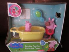 Peppa Pig Bathtime set Toddler Christmas Gifts, Toddler Boy Gifts, Toddler Toys, Jojo Siwa Outfits, Lol Dolls, Kids Shows, Peppa Pig, New Toys, Toys For Girls
